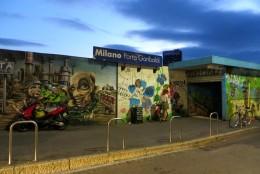 Garibaldi station's spectacular street art