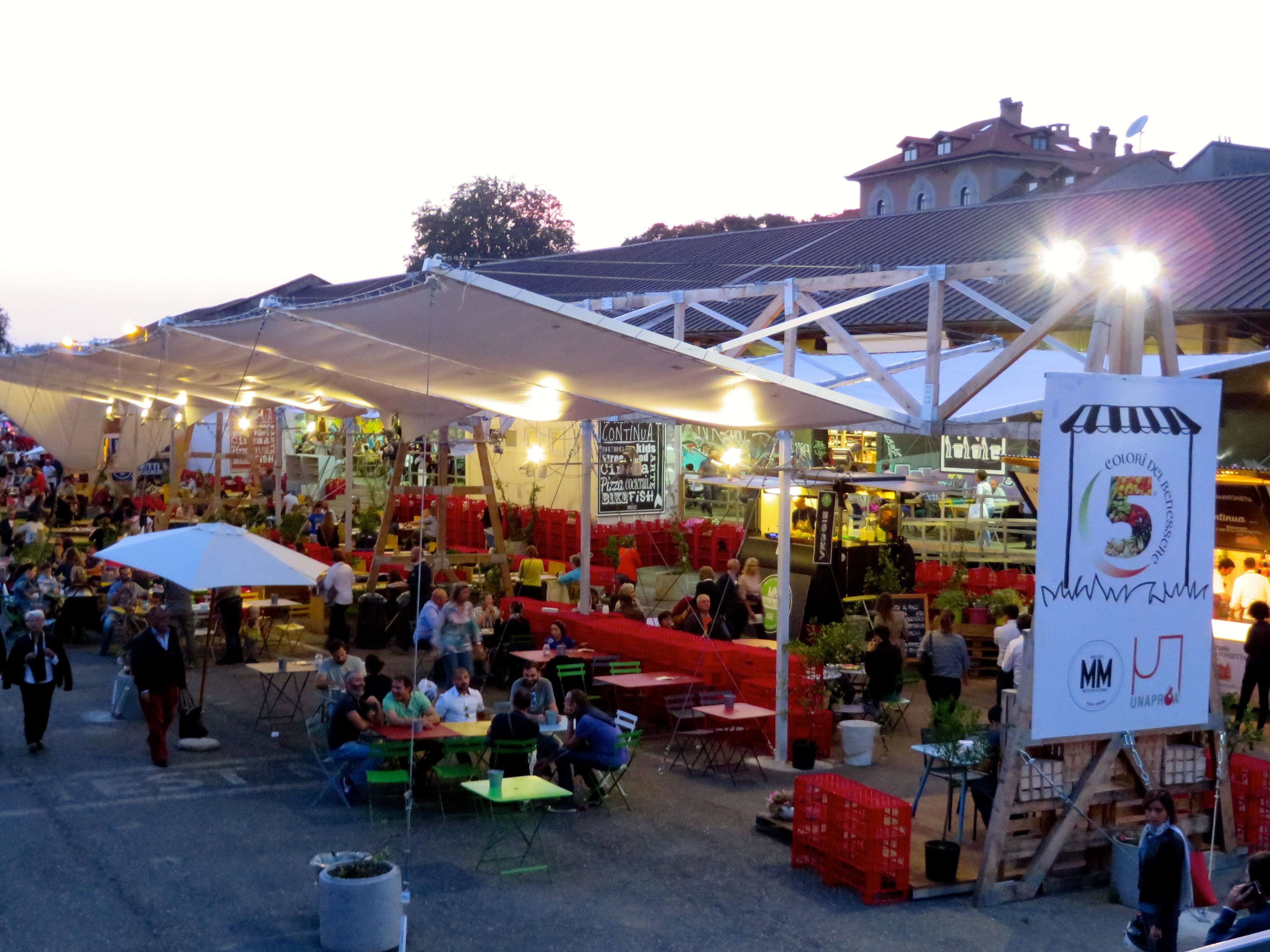 Postcards from milan funky food market thrives in for Milan food market