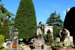 Monumental Cemetery is Milan's most dramatic resting place